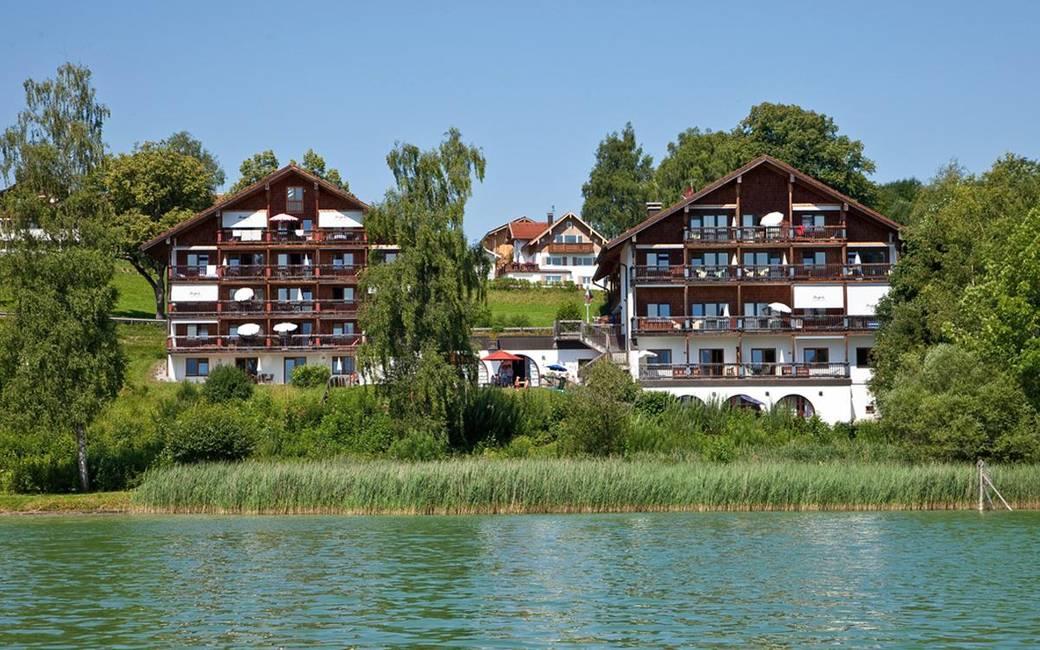 Außenansicht Hotel Seespitz