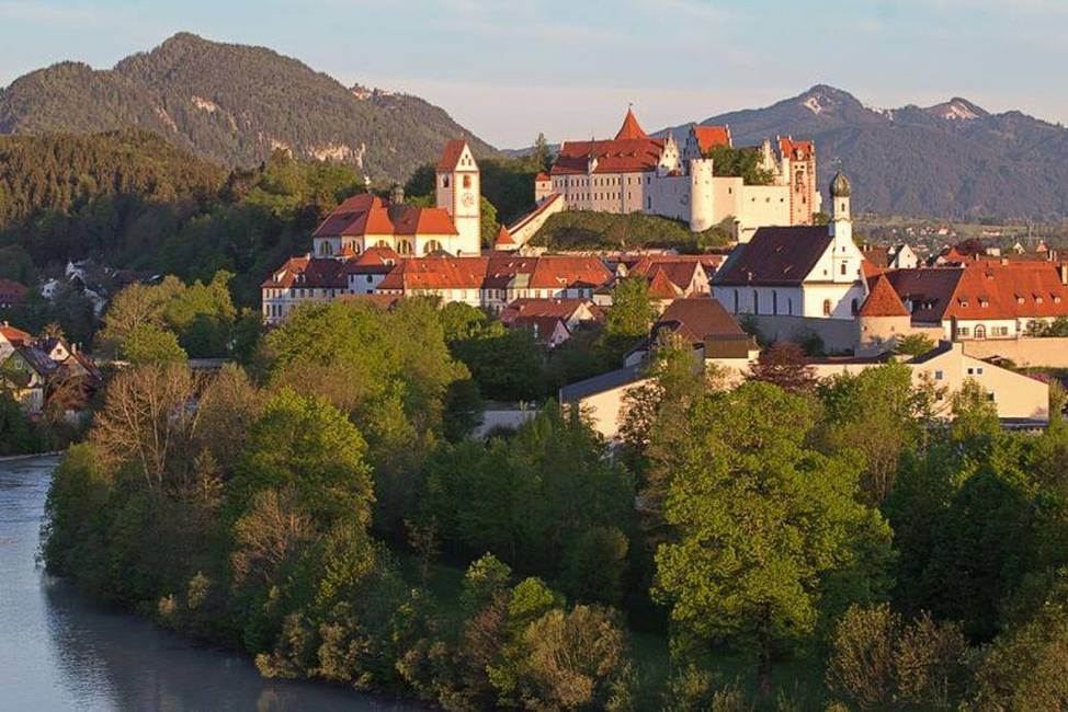 Stadt Füssen Hohe Schloß