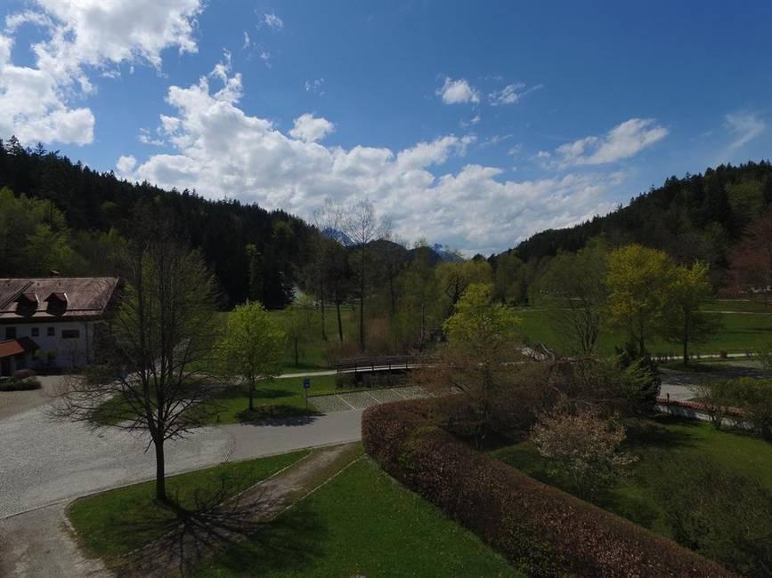 Aussicht vom Westbalkon