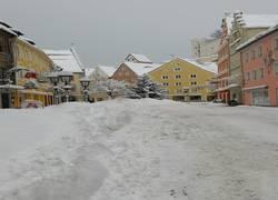 Füssen versinkt im Schnee