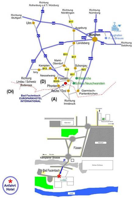 Lage / Karte
