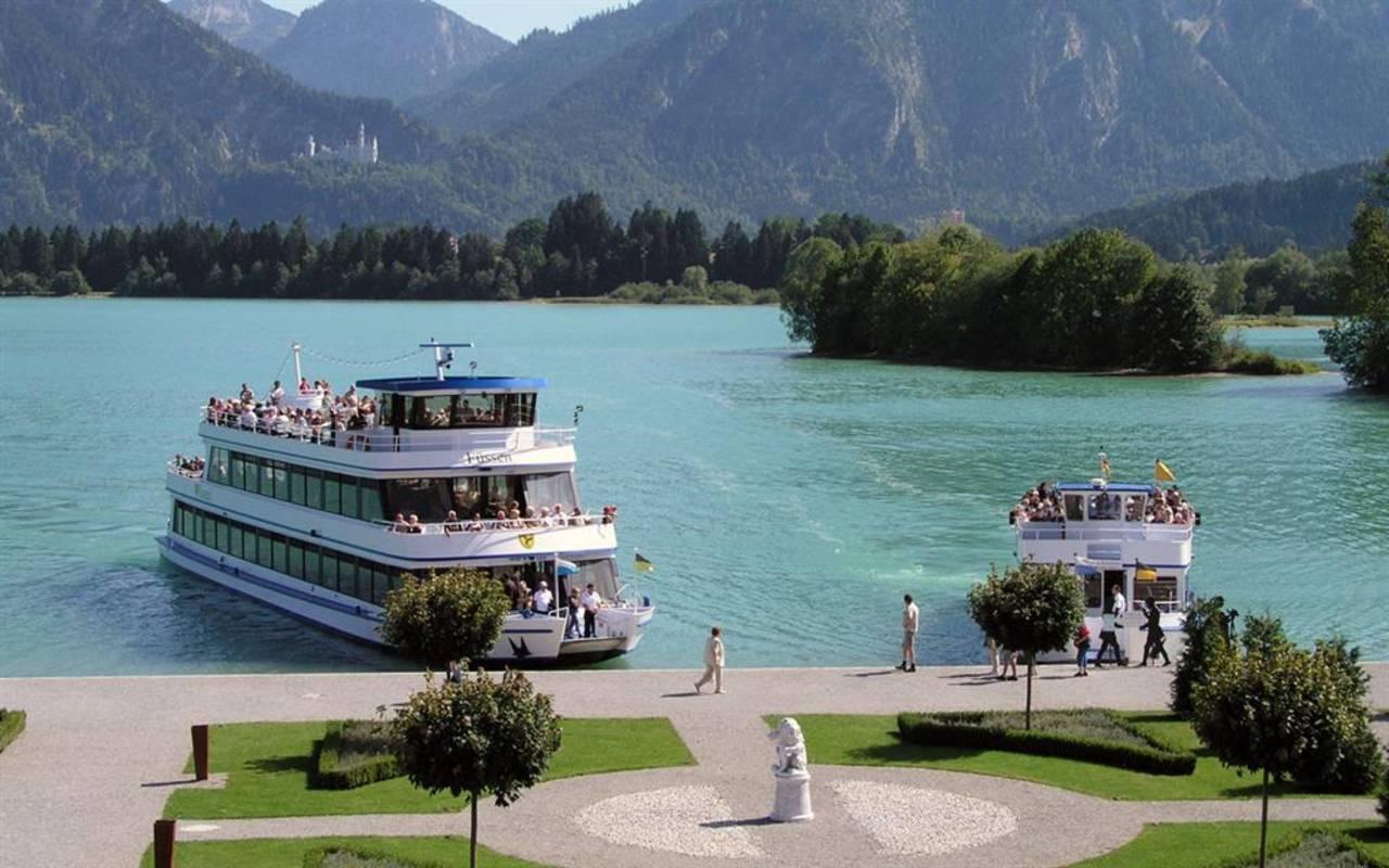 Schifffahrt -Forggensee