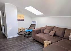 Wohnzimmer, Sofa, Leseecke