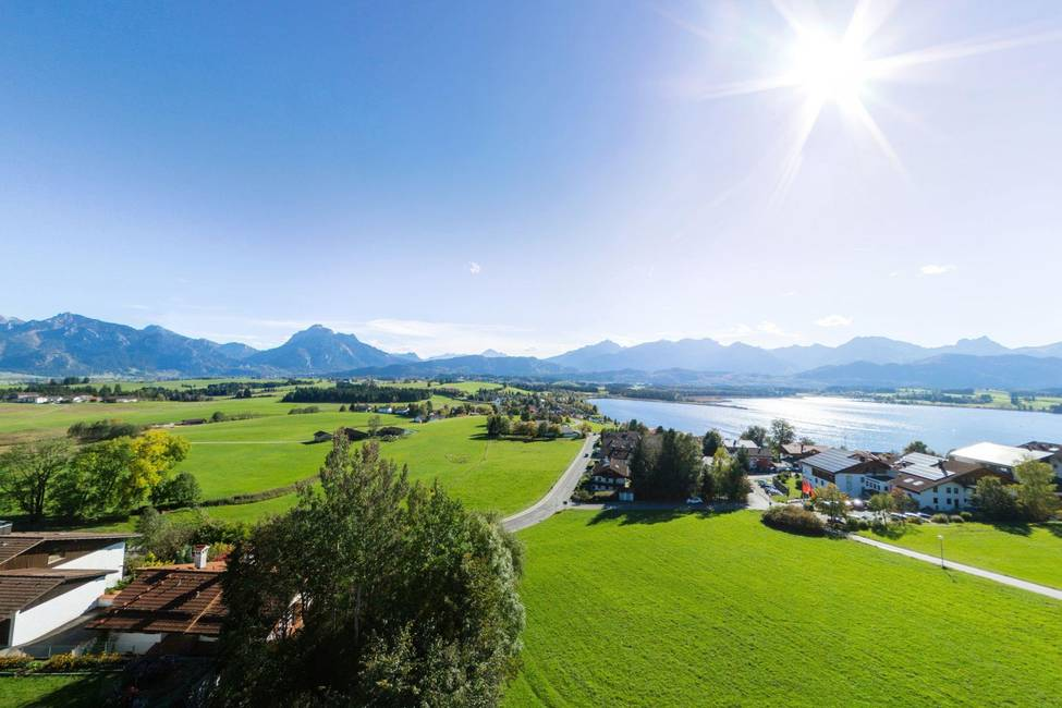 Ausblick Hartung's Hotel Dorf