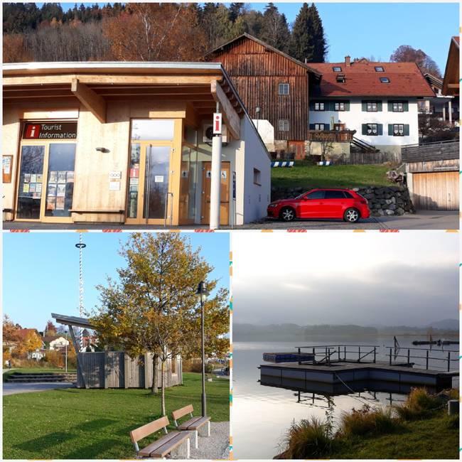 Zentrale Lage - Touriinfo, Kneippanlage, ...