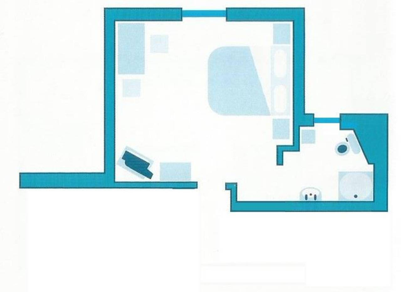 Skizze Doppelzimmer