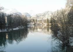 Lech im Winter