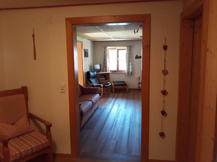 Eingangsbereich Ferienwohnung