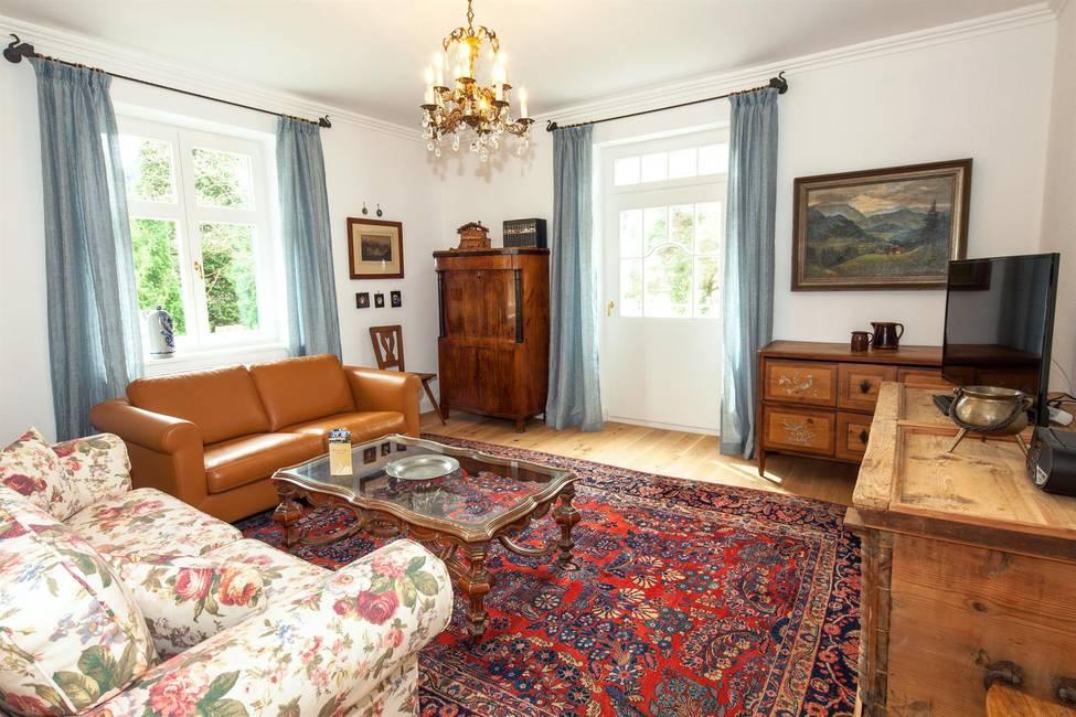 Linderhof Wohnzimmer