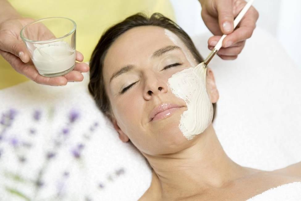 Naturkosmetik - Gesichtsmaske im Biohotel Eggensbe