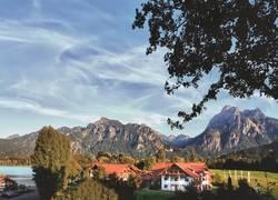 Hotel Sommer mit Schloss