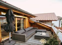 Balkon Lounge zum wohlfühlen