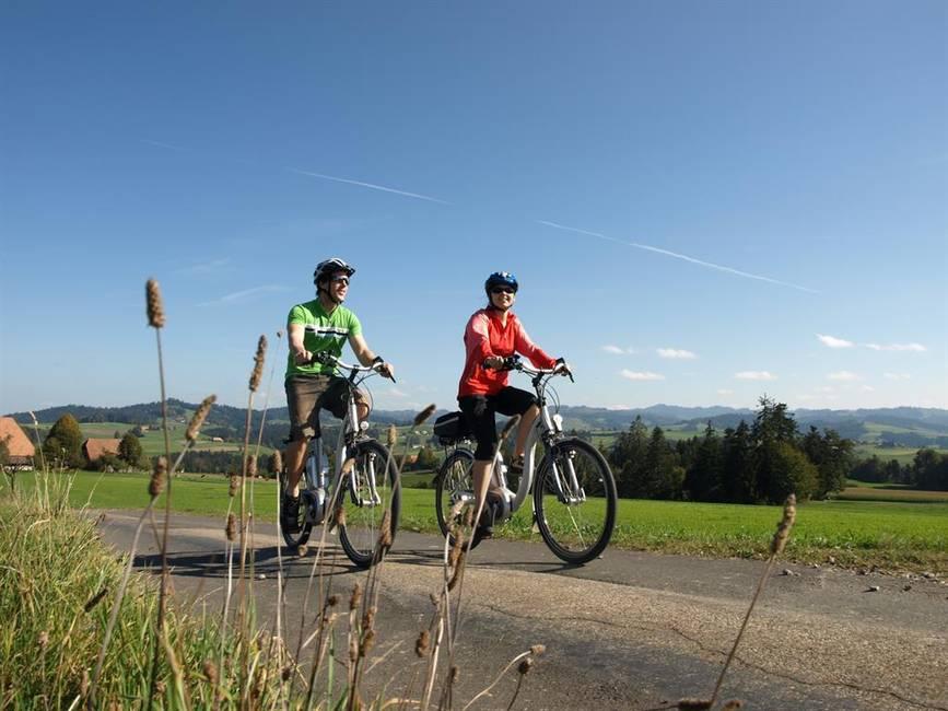 E-Bikes zum Leihen für die Radrunde Allgäu