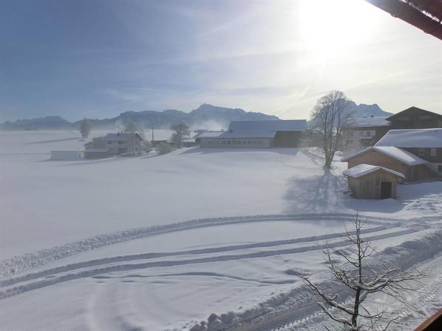 Die Spuren im Schnee