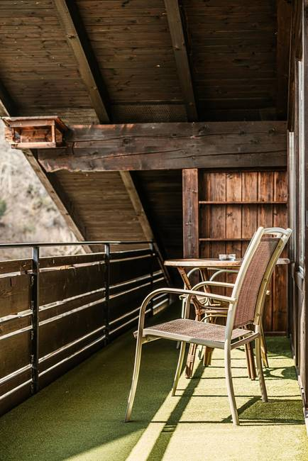 Kurhotel Jakob Ferienwohnung Balkon