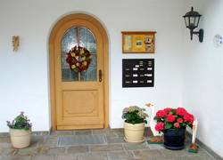 Hauseingang Rosa Füssen