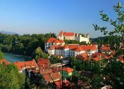 Stadt Füssen Ansicht Osten
