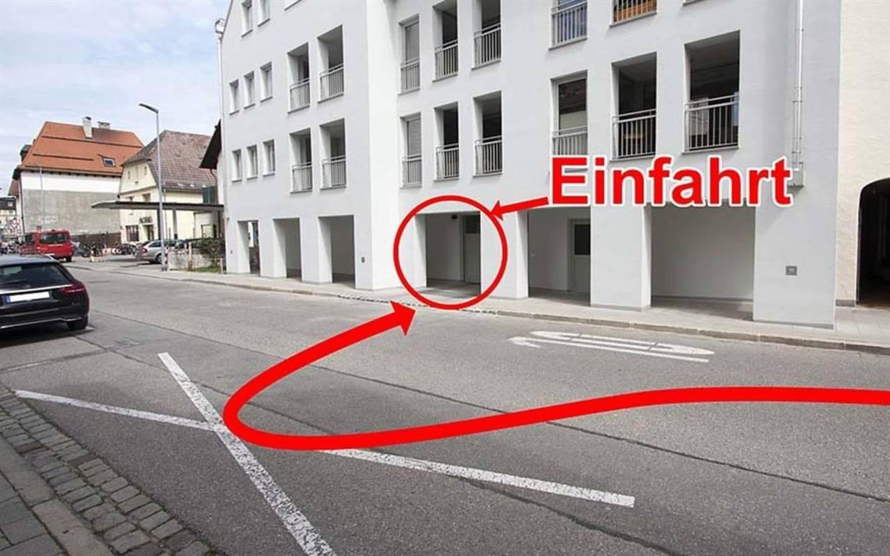 Zufahrt-Garage