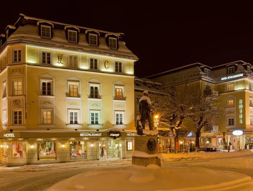 Hotel Schlosskrone Winterbild-Nacht-opti