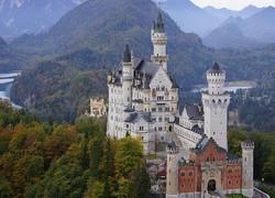 und natürlich Schloss Neuschwanstein