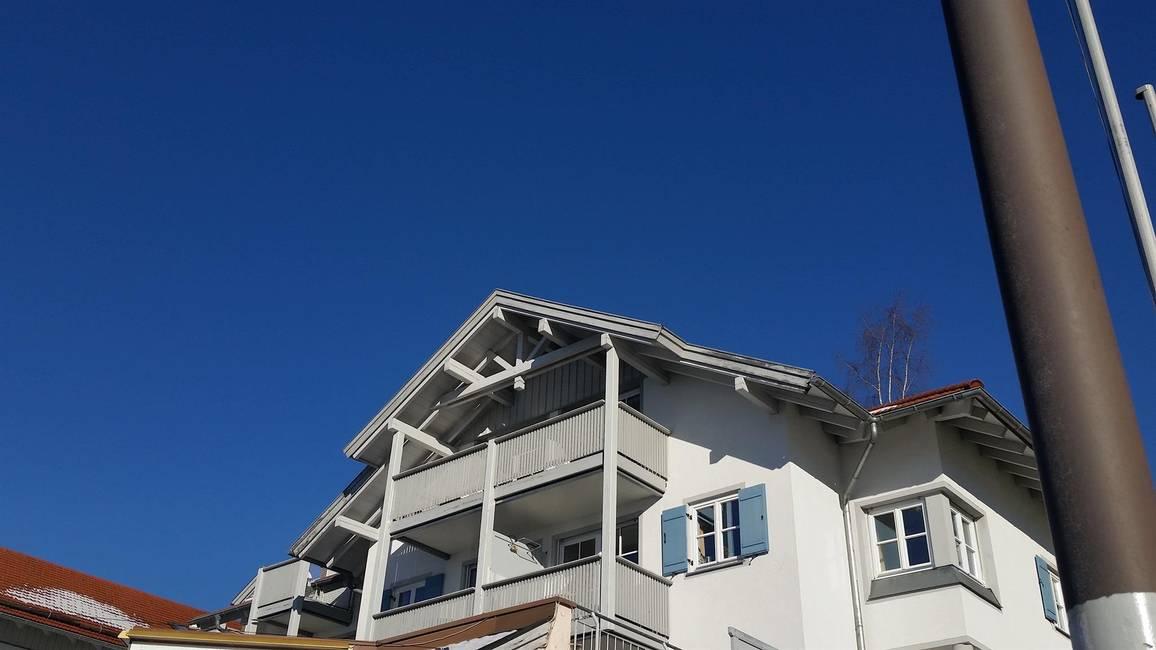 Balkon links