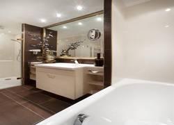 Bad - Ansicht von Badewanne