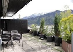 Terrasse, See-/ Bergblick