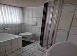 Ferienwohnung Schweizer Chalet Dusche