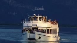 Abendfahrt auf dem Forggensee