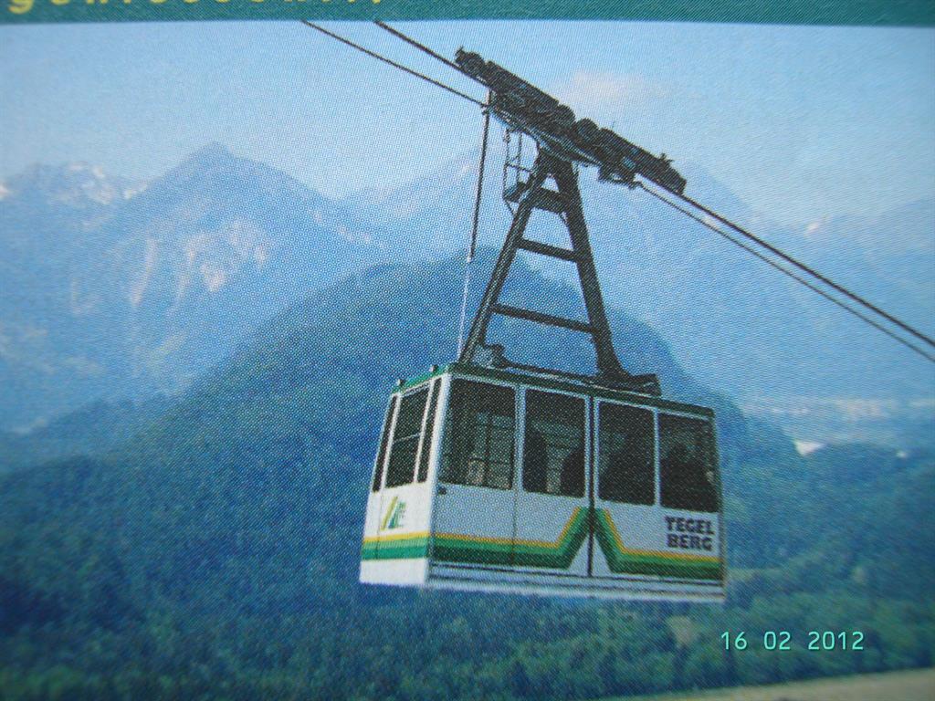 Tegelberg- Kabinenbahn
